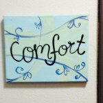 Room name sign, Comfort