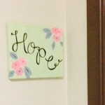 Door sign hope