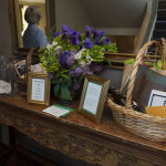 Lovely. goodie-filled baskets were raffled off.
