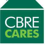 CBRE Cares logo