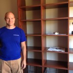 California Closets donated the materials an labor to add great, quality closets to all the new rooms.