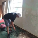 Cleaning up after the mess of wall repair