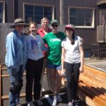 Volunteer Staining Team