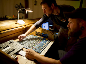 Soundboard Operators make sure the music for our media sounds great.