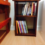 book shelves from girl scouts