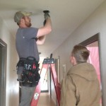 Electricians as work