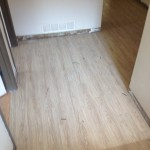 Here is what the floor outside my office looks like now. What a difference!
