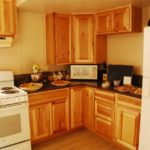 Holy Cross Catholic Church donated money for this beautifully remodeled and enlarged kitchen.