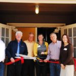 Many members of the Home Builders Foundation board were able to come to see what they had done.